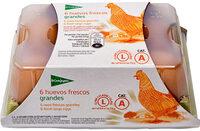 Huevos frescos grandes - Produit - es