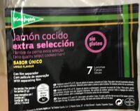 Jamón cocido extra selección lonchas sin gluten - Produit - es