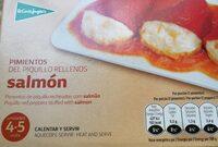 Pimientos del piquillo rellenos de salmón - Product