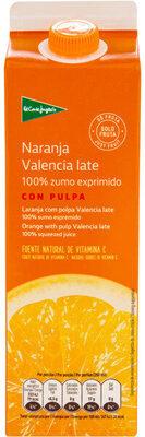 Zumo de naranja Valencia late con pulpa - Producto - es