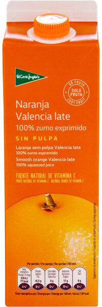 Zumo de naranja sin pulpa - Produit - es