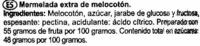 Mermelada de melocotón - Ingrediënten