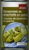 Alcachofas en cuartos en conserva - Producto