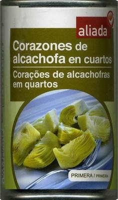 Alcachofas en cuartos en conserva - Producte