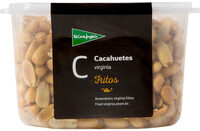 Cacahuetes Virginia fritos pelados tarrina 500 g - Producte - es
