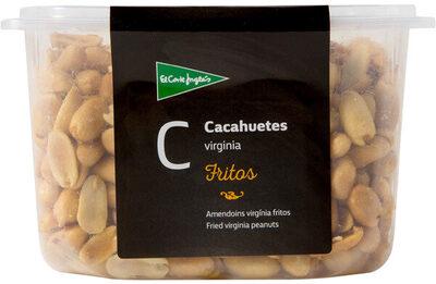 Cacahuetes Virginia fritos pelados tarrina 500 g - Producte