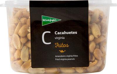 Cacahuetes virginia fritos pelados tarrina - Producte - es