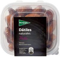 Dátiles naturales tarrina - Produit - es