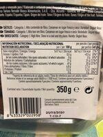 Dátiles naturales tarrina - Informations nutritionnelles - es