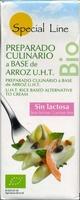 """Nata vegetal a base de arroz ecológica """"Special Line"""" - Producto"""
