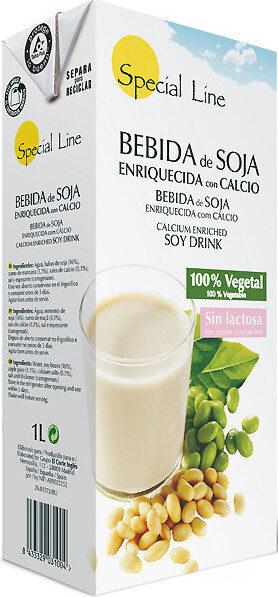 Bebida de soja enriquecida con calcio vegetal - Product - es