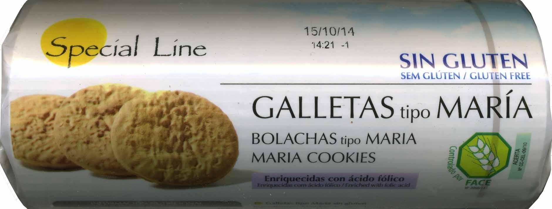 Galletas María sin gluten - Producto