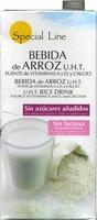 Bebida de arroz UHT, vitaminas A y D y calcio - Producto