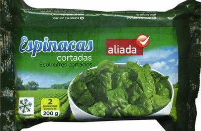 """Espinacas cortadas congeladas """"Aliada"""" - Producto"""