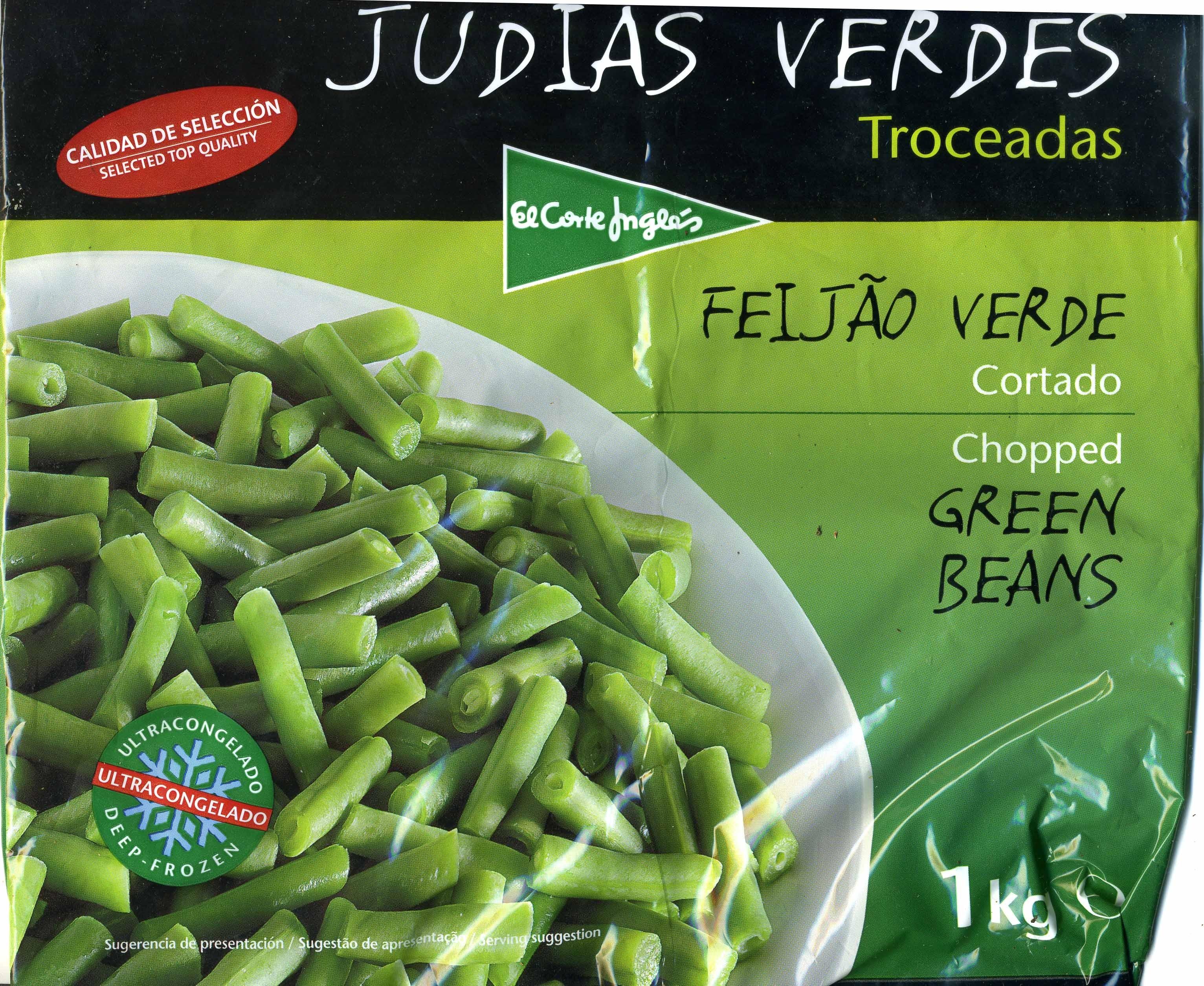 """Judías verdes redondas troceadas congeladas """"El Corte Inglés"""" - Product - es"""