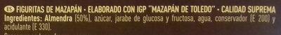Figuritas de mazapán - Ingredientes - es