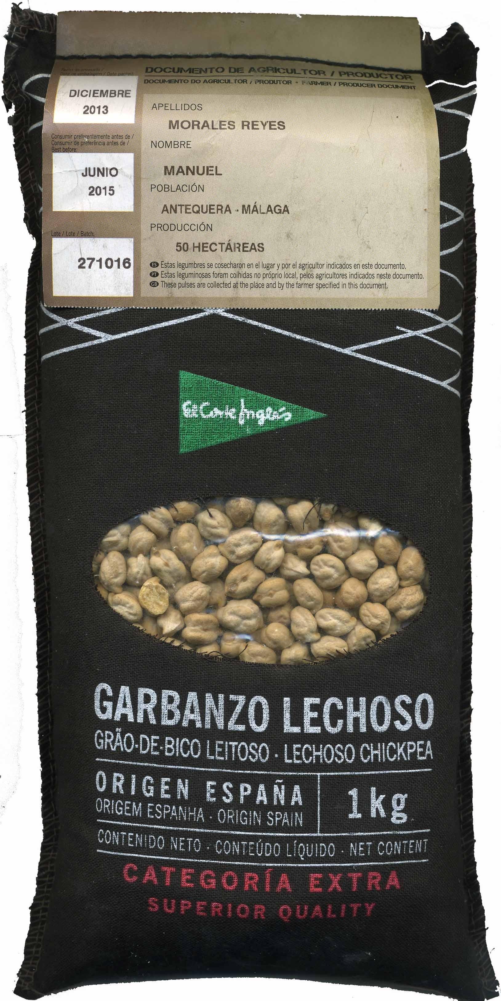 Garbanzos Tipo Lechoso - Produit - es