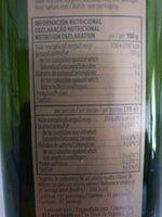 Aceite de oliva virgen extra Hojiblanca - Informació nutricional - es