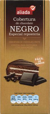 Cobertura de chocolate negro especial repostería - Producto