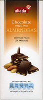 Chocolate negro con almendras - Product - es
