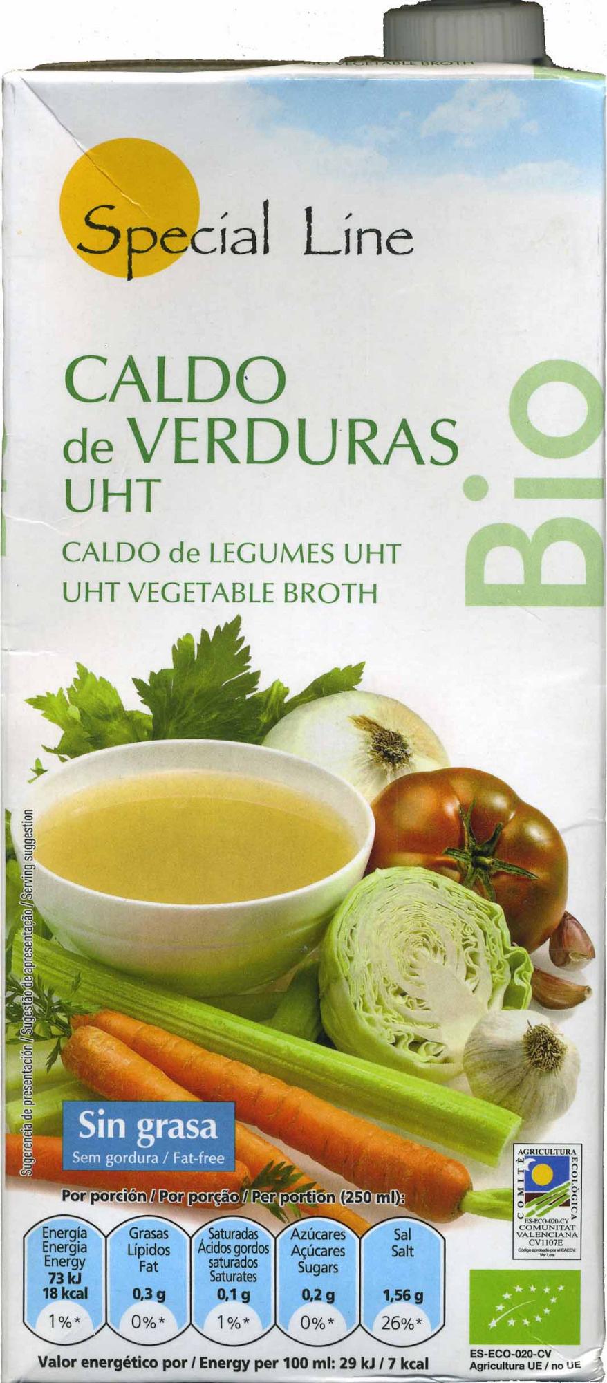 Caldo de verduras - Produit - es