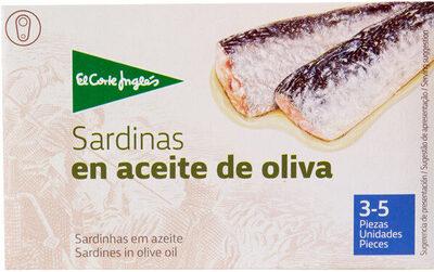 Sardinas aceite de oliva - Product - es
