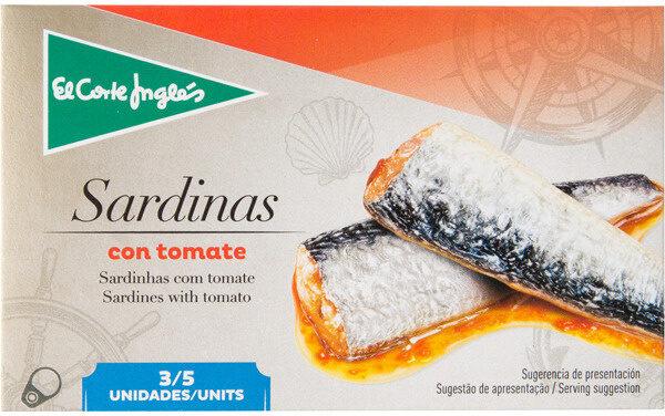 Sardinas tomate - Produit - fr