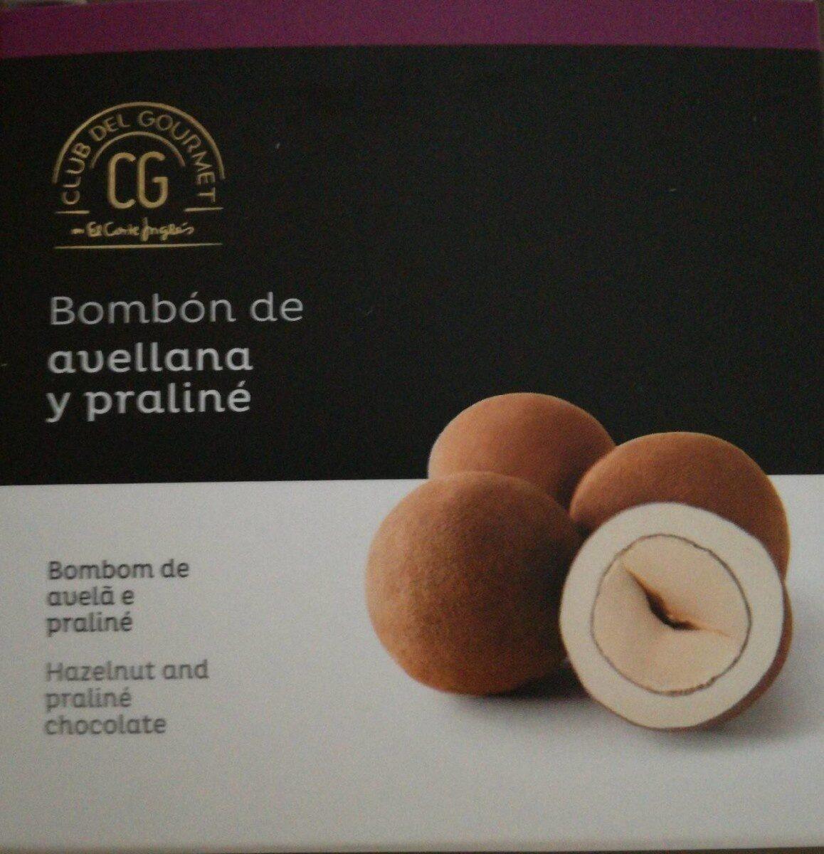 Bombón de avellana y praliné - Product