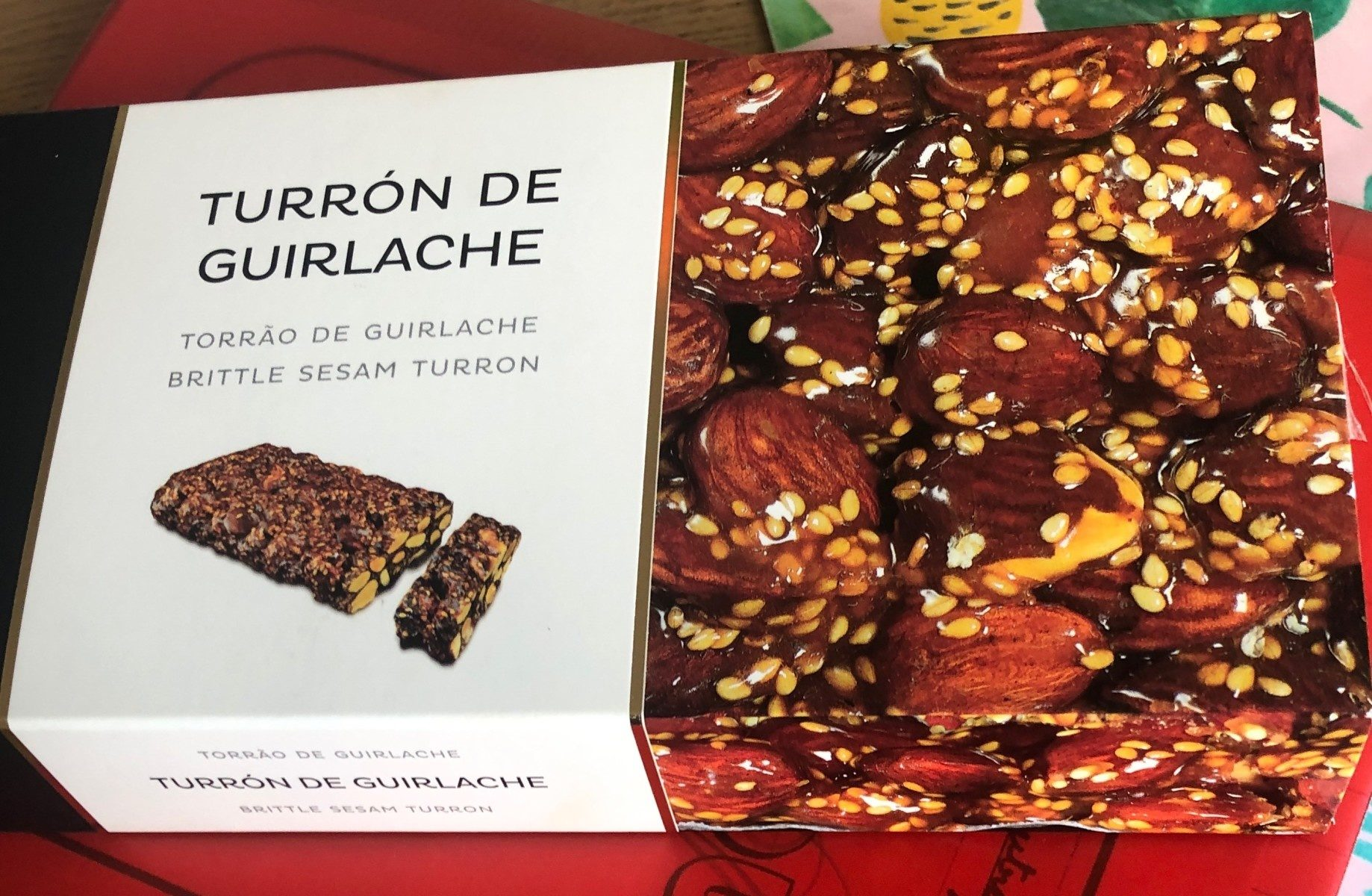 Turrón de guirlache - Produit - fr