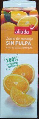 Zumo de naranja SIN PULPA - Producto