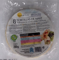 8 Tortillas de Maíz - Producto