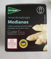 Yemas de espárragos blancos i.g.p. medianas - Produit - es