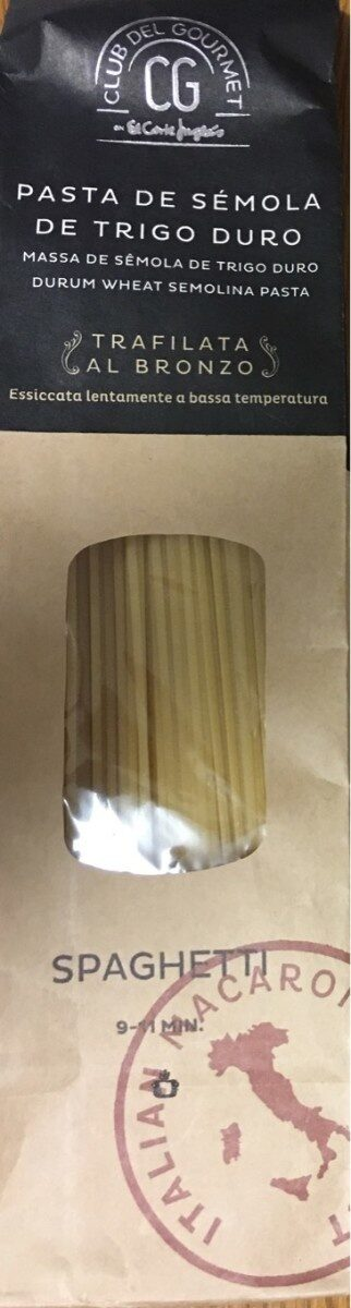 Pasta de sémola de trigo duro - Product - es