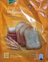 Pan tostado - Produit - fr