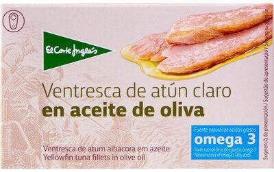 Ventresca de atún claro en aceite de oliva