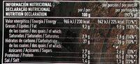 Pizza vegetal - Informations nutritionnelles - es