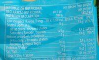 Mozzarella fresca - Voedigswaarden