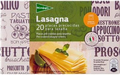 Lasagna placas precocidas - Produit - es