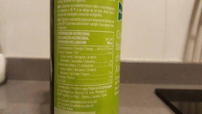Crema de vinagre balsámico de pedro ximénez - Informations nutritionnelles - es