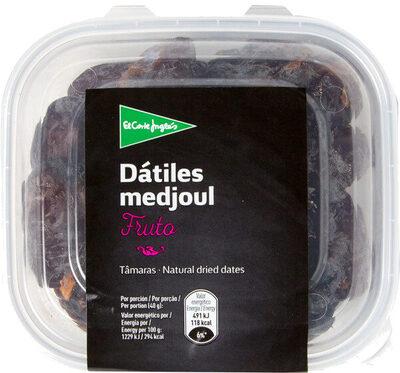 Dátiles medjoul tarrina - Produit - es