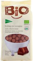 Bio bolitas de cereales con chocolate - Producto