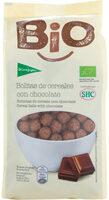 Bio bolitas de cereales con chocolate - Producte - es