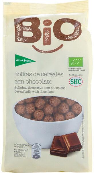 Bio bolitas de cereales con chocolate - Produit - es