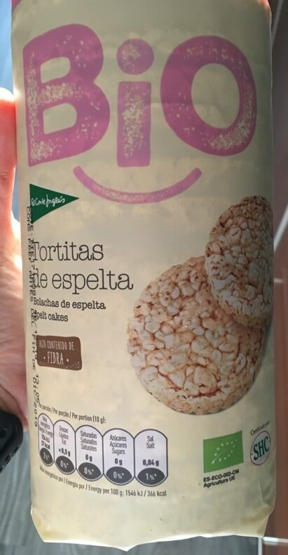Bio tortitas de espelta - Producte - es