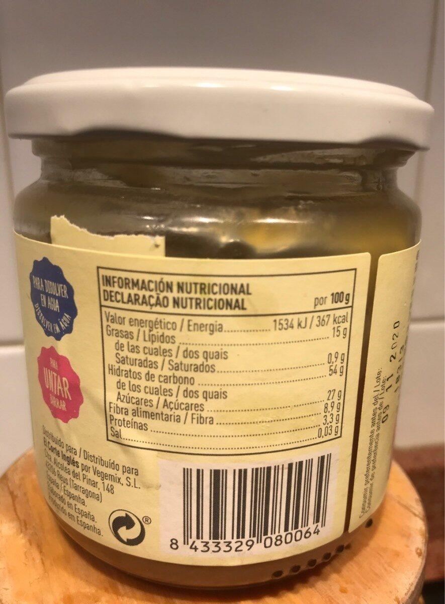 Bio crema de avellanas - Informations nutritionnelles - es