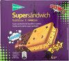 Supersándwich helado de vainilla y cobertura de chocolate - Product