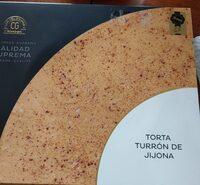 Torta turrón de jijona - Product