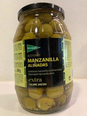 Aceitunas Manzanilla Aliñadas extra