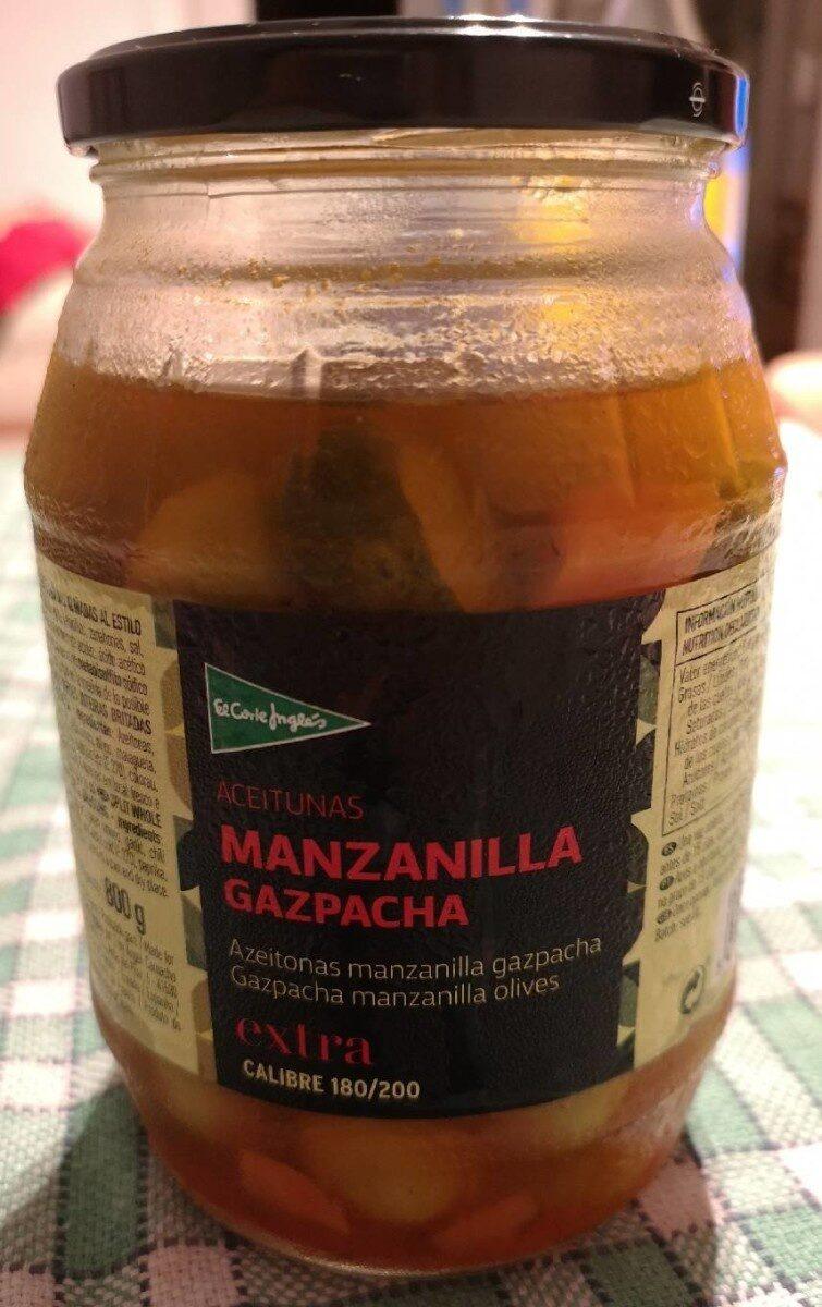 Aceitunas manzanilla gazpacha frasco 500 g - Product - es