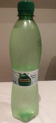 Agua mineral natural con gas - Produit - fr